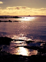<h5>St Michael's Mount in the Sun</h5>