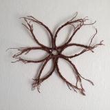 <h5>The Eternal Feminine</h5><p>Foraged fallen fir braches and copper wire.</p>